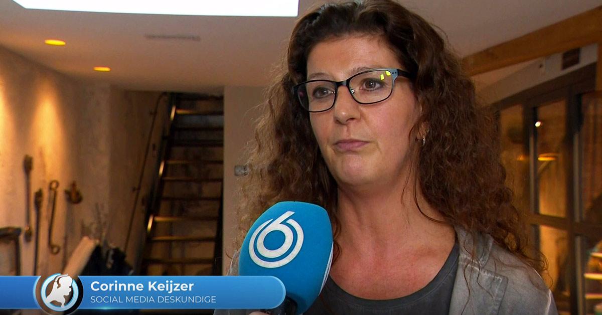 social media expert corinne keijzer in hart van nederland