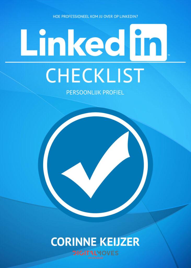 De gratis LinkedIn checklist - Corinne Keijzer