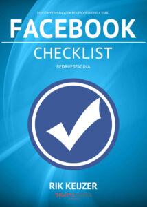 Gratis Checklist Facebook - Rik Keijzer