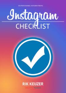 Gratis Checklist Instagram - Rik Keijzer